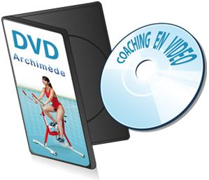 aquabike Optima Pro Diamond: DVD de coaching